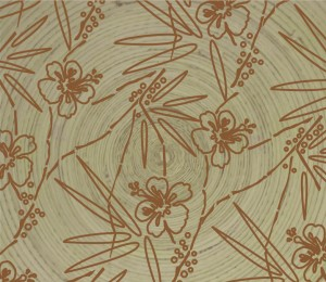 flowers-on-bamboo-plate
