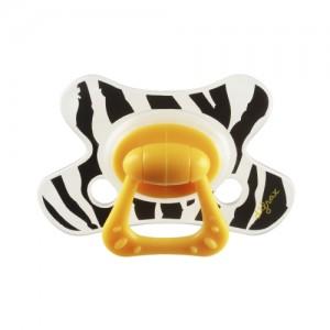 Difrax soother design Zebra